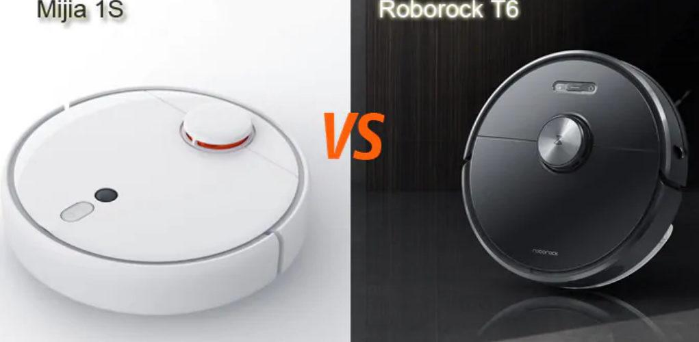 Robot Xiaomi Roborock T6 vs Mijia 1S dòng nào tốt hơn?