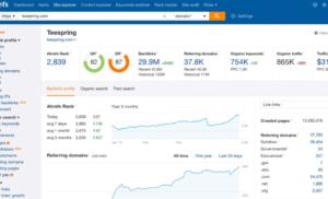 cách kiểm tra backlink for web với Ahref nhanh nhất