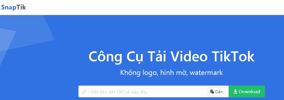 Top 4 ứng dụng tải video TikTok không dính logo bạn cần biết
